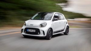 Renting Smart EQ forfour