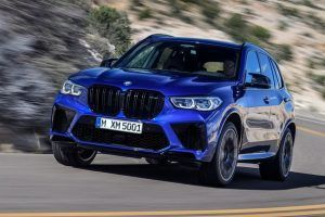 Renting BMW X5 M Competition